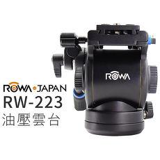 ROWA JAPAN RW-223 油壓雲台