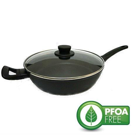 WMF PFOA-FREE 平底鍋/不沾鍋/煎炒鍋 28cm Profi Select(附蓋)