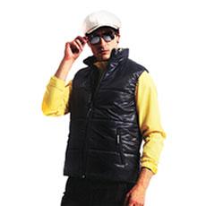 【Sunrise】輕量柔軟鋪棉雙面★中性版保暖背心★-騎士黑88061L