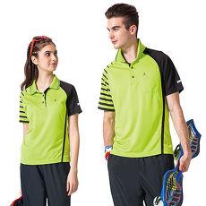【SPAR】吸濕排汗男版短袖POLO衫(SP48373)亮綠色XL