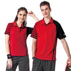 【SPAR】吸濕排汗男版短袖POLO衫(SP48374)紅色