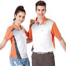 【SPAR】吸濕排汗女版短袖POLO衫(SP47465)中橘色