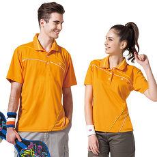 【SPAR】吸濕排汗女版短袖POLO衫(SP47193)炫桔色