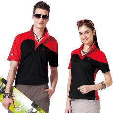 【SPAR】吸濕排汗女版短袖POLO衫(SP47195)亮紅色