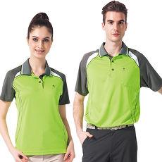 【SPAR】吸濕排汗男版短袖POLO衫(SP48192)亮綠色