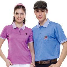 【SPAR】吸濕排汗女版短袖POLO衫(SP73613)紫色
