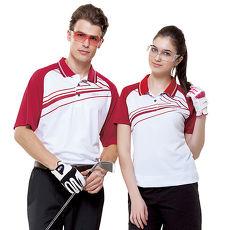 【SPAR】吸濕排汗女版短袖POLO衫(SP73533)白色