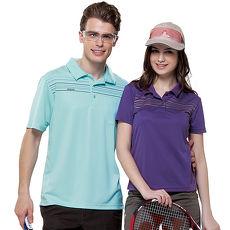 【SPAR】吸濕排汗女版短袖POLO衫(SP73591)炫紫色
