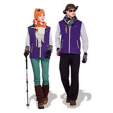 【SPAR】防潑水處理中性款單面穿保暖背心(SP86843)紫色