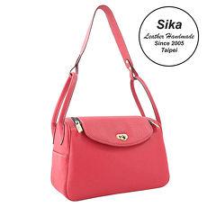Sika義大利時尚肩背波士頓包 L6184-4 桃紅色