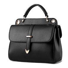(共二色)【L.Elegant】雙層時尚單肩手提斜背郵差造型包