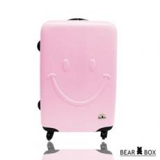 【BEAR BOX】☆莎莎代言☆ 一見你就笑☆ ABS輕硬殼微笑行李箱旅行箱(28吋)