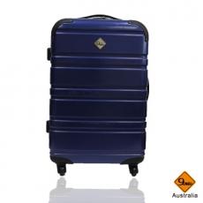 莎莎代言 Gate9 經典橫紋系列 PC亮面輕硬殼行李箱  (28吋)