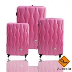 【Gate9】波西米亞系列*ABS霧面旅行箱/行李箱/拉桿箱/登機箱3件組(28+24+20吋)