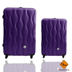 【Gate9】波西米亞系列*ABS霧面旅行箱/行李箱/拉桿箱/登機箱兩件組(28+20吋)