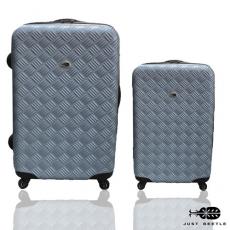 【Just Beetle】未來系列行李箱/旅行箱/登機箱/拉桿箱兩件組(28+20吋)