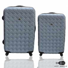 【Just Beetle】未來系列行李箱/旅行箱/登機箱/拉桿箱兩件組(24+20吋)