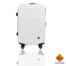 【Gate9】 經典世紀足球系列ABS輕硬殼行李箱/旅行箱/登機箱(24吋)