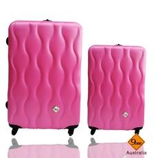 Gate9波西米亞系列(28+20吋)ABS霧面旅行箱行李箱拉桿箱登機箱二件組