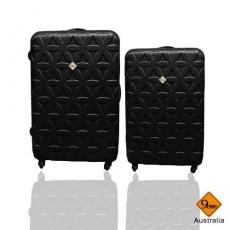 行李箱 旅行箱 Gate9花花系列(24+20)ABS霧面 拉桿箱 登機箱二件組