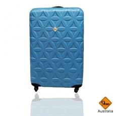 行李箱 旅行箱 Gate9花花系列(24吋)ABS霧面 拉桿箱 登機箱