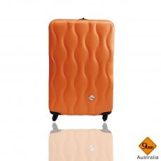 Gate9波西米亞系列(20吋)ABS霧面旅行箱行李箱拉桿箱登機箱_活動紫色