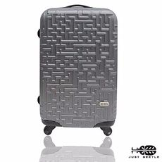 行李箱|24吋【JUST BEETLE】迷宮系列ABS輕硬殼行李箱