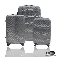 行李箱|20+24+28吋【JUST BEETLE】迷宮系列ABS輕硬殼行李箱