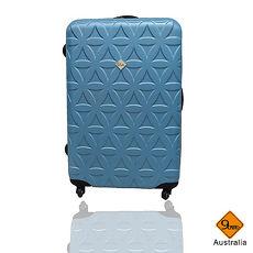 行李箱|28吋【Gate9】花花系列ABS輕硬殼行李箱