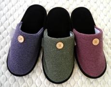 (e鞋院)[日光暖暖]麂皮底舒適室內拖鞋