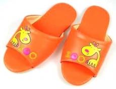 (e鞋院)★童鞋會★[花漾長頸鹿靜音]無聲兒童室內拖鞋