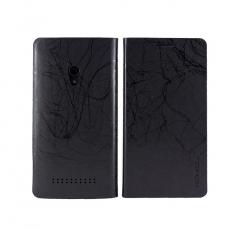 HOMOSA ASUS Zenfone 5 可站立閃電皮套-黑