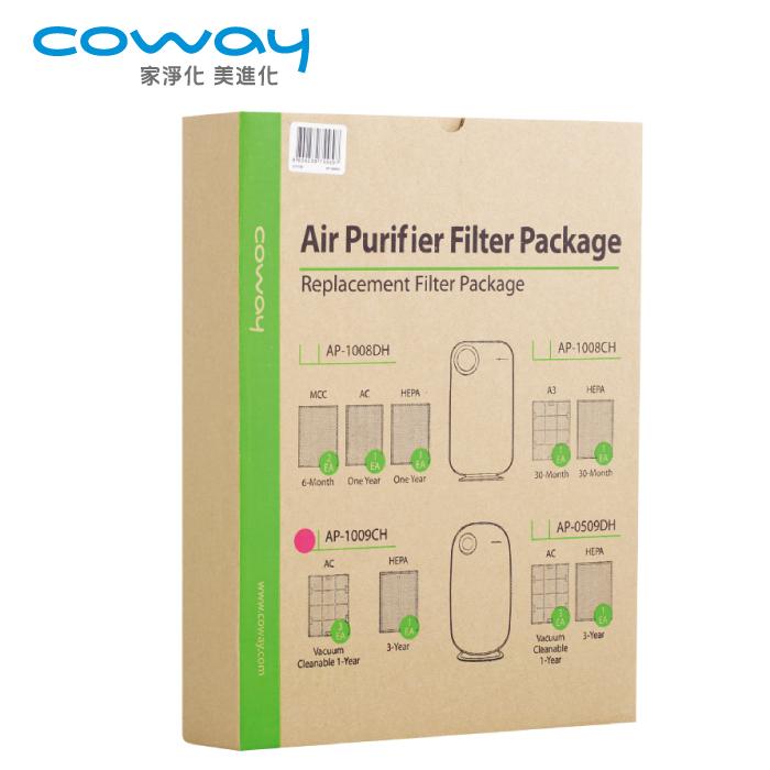 Coway 空氣清淨機三年份濾網【加護抗敏型 AP-1009CH】