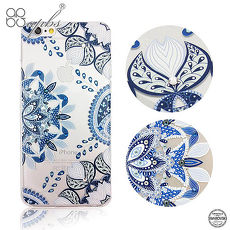 apbs iPhone6s/6 & 6s Plus/6 Plus 施華洛世奇彩鑽手機殼-青花瓷