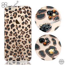 apbs iPhone6s/6 & 6s Plus/6 Plus 施華洛世奇彩鑽手機殼-狂野豹紋