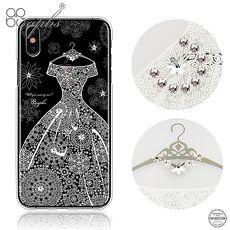 apbs iPhone Xs / iPhone X 5.8吋施華洛世奇彩鑽手機殼-禮服奢華版