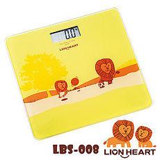 獅子心Lion-電子體重計LBS-008