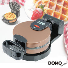 【DOMO】不鏽鋼翻轉式鬆餅機DM9006AWT