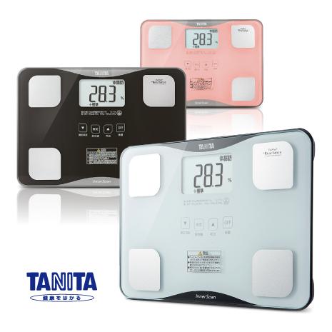【TANITA】四合一體組成計 BC-718(3色)潮流白