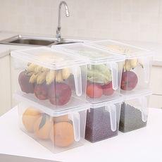 【日系家居-塑膠握把萬用收納盒】簡約設計,方便實用。