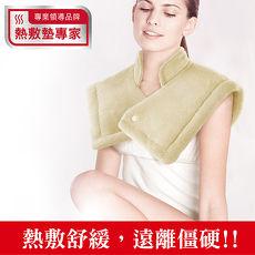 Sunlus三樂事LCD頸肩雙用熱敷柔毛墊