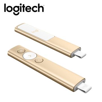 羅技Logitech SPOTLIGHT 簡報遙控器-香檳金