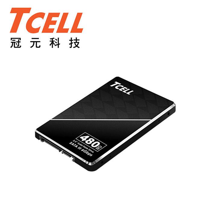 TCELL冠元 SSD TT550 480GB固態硬碟