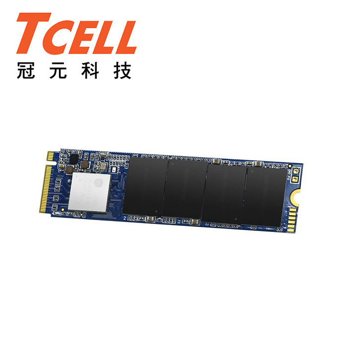 TCELL冠元 TP6500 512G M.2 PCIe SSD固態硬碟