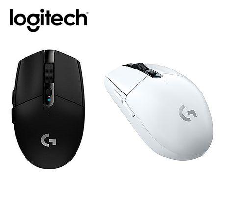 logitech 羅技 G304 LIGHTSPEED 無線電競遊鼠+G240電競鼠墊白色