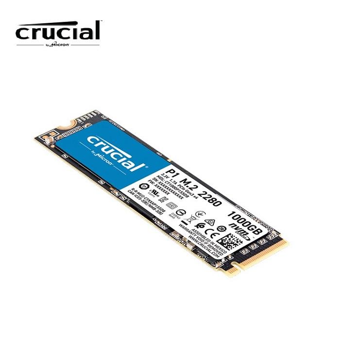 Micron 美光 Crucial P1 1TB M.2 2280 固態硬碟
