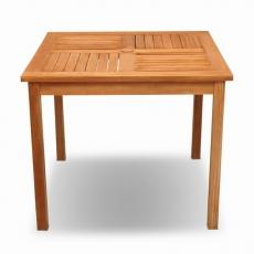 BROTHER 兄弟牌印尼柚木古典90cm方桌