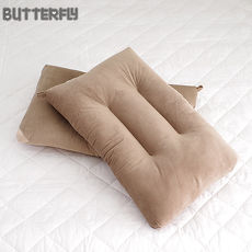 BUTTERFLY ~ 可水洗彈性枕~棕 快乾滴水網布  ~二入組