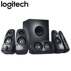 Logitech羅技 Z506 5.1聲道喇叭(總功率75瓦/衛星5顆+重低音)