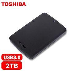 Toshiba A2 Basic 2.5吋 2TB 行動硬碟 黑